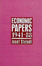 Economic papers, 1941-88