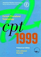 CPT 1999 : current procedural terminology