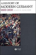 A history of modern Germany, 1800-2000