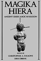 Magika hiera ancient Greek magic and religion
