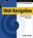 Web navigation designing the user experience