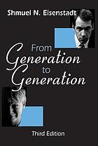 From generation to generation; age groups and social structure