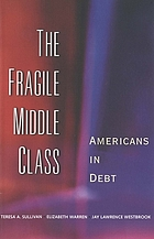 The fragile middle class : Americans in debt