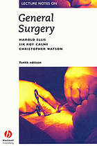 Lecture notes on general surgery