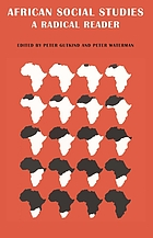 African social studies : a radical reader