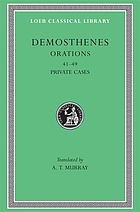 Demosthenes, with an English translation