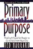 Primary purpose : making it hard for people to go to hell from your city