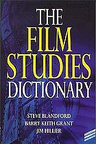 The film studies dictionary