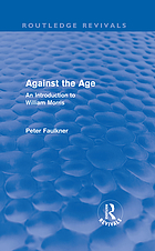 Against the age : an introduction to William Morris