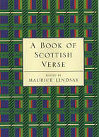 A book of Scottish verse