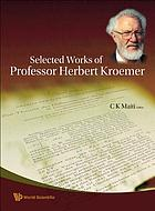 Selected works of Professor Herbert Kroemer