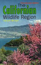 The Californian wildlife region