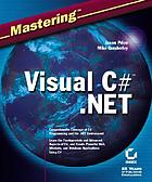 Mastering Visual C♯ .NET