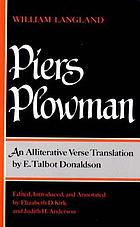 Will's vision of Piers Plowman