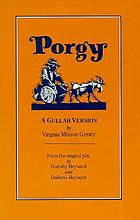 Porgy : a Gullah version