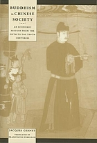 Buddhism in Chinese society : an economic history from the fifth to the tenth centuries