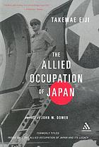 The Allied occupation of Japan