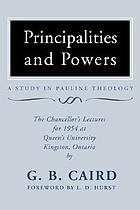 Principalities and powers : a study in Pauline theology