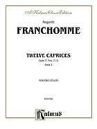Twelve caprices, opus 7, nos. 7-12. for two cellos