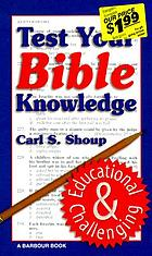 Test your Bible knowledge; multiple-choice questions and answers keyed to Scripture verses