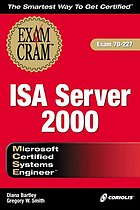 MCSE ISA Server 2000MCSE ISA Server 2000 exam cram