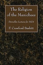 The religion of the Manichees