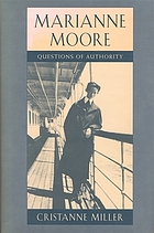 Marianne Moore : questions of authority