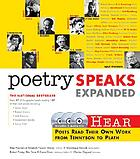 Poetry speaks expanded : hear poets from Tennyson to Plath read their own work
