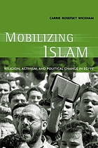 Mobilizing Islam : religion, activism, and political change in Egypt
