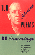 100 selected poems / by e.e. cummings