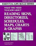 What you need to know about reading signs, directories, schedules, maps, charts, & graphs