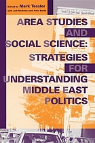 Area studies and social science : strategies for understanding Middle East politics