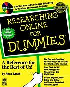 Researching online for dummies