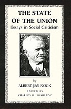 The state of the union : essays in social criticism