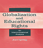 Globalization and educational rights : an intercivilizational analysis