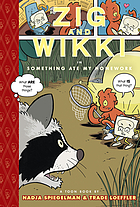 Zig and Wikki in Something ate my homework : a Toon book Something ate my homework : a toon book
