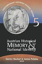 Austrian historical memory & national identity