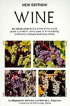 Wine : an introduction