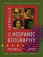 Dictionary of Hispanic biography Dictionary of Hispanic biography