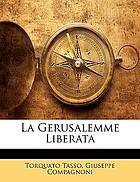 La Gierusalemme liberata di Torquato Tasso: in due volumi.