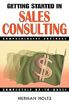 Getting started in sales consulting