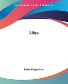 Libya : a country study