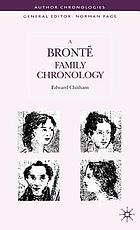A Brontë family chronology
