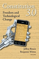 Constitution 3.0 Freedom and Technological Change