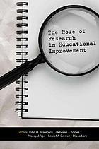 The role of research in educational improvement