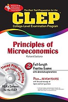 The best test preparation for the CLEP principles of microeconomics : with REA's testware on CD-ROM