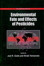 Environmental fate and effects of pesticides