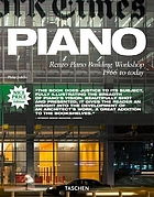 Piano : Renzo Piano Building Workshop 1966 to today