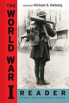 The World War I reader : [primary and secondary sources]