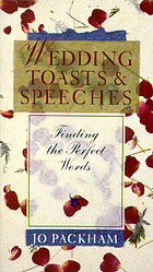 Wedding toasts & speeches : finding the perfect words